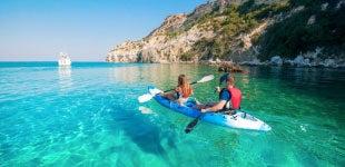 La mejor playa de Grecia para nadar